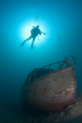 Freshwater wreck,Capernwray 10.5mm. 